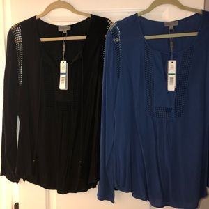 Tops - Two for 1 Deal!!!!! Blue and Black Tops 🌟🌟🌟🌟